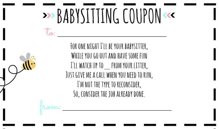 babysitting certificate templates